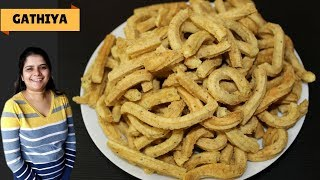 Gathiya Recipe | Gujarati Gathiya Recipe | भावनगरी गांठिया | How to make Bhavnagari Gathiya