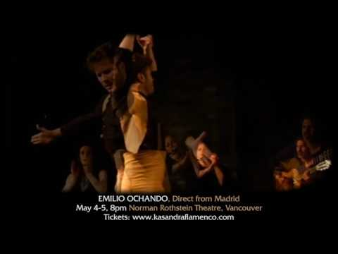 "Kasandra Flamenco presents EMILIO OCHANDO in ""La Tarara"" May 4-5, 2017 Vancouver"
