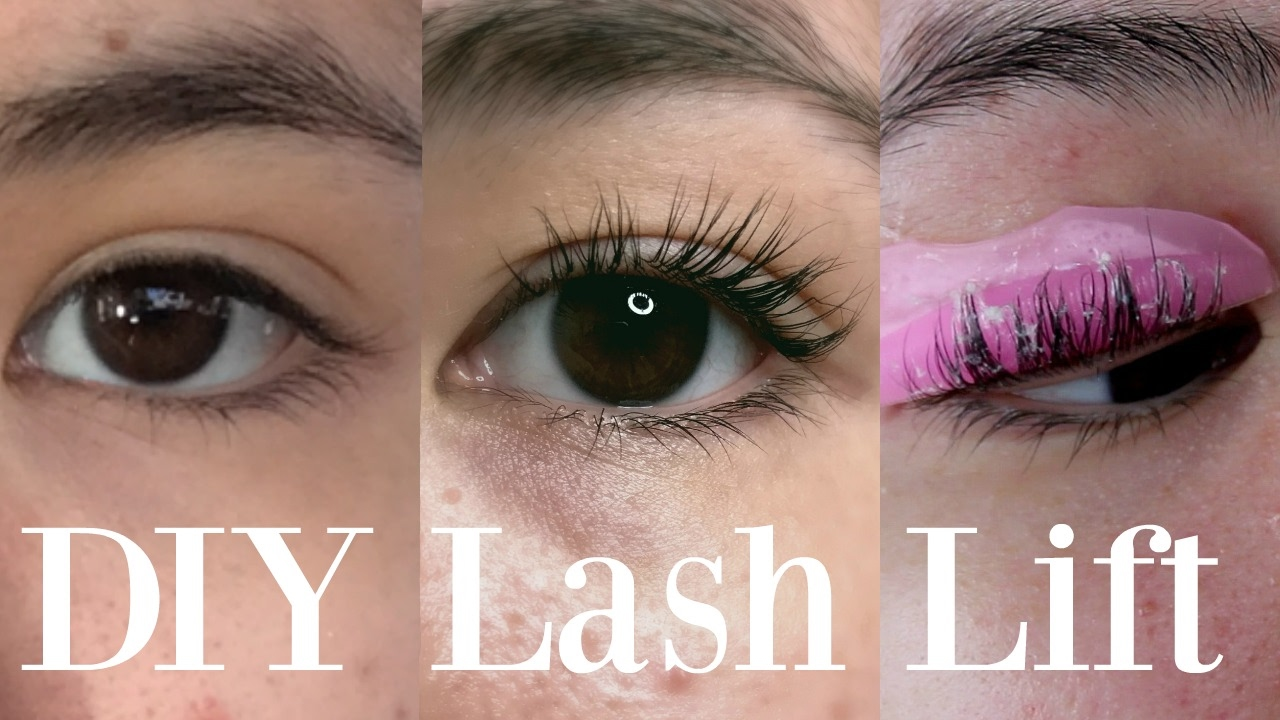 Lash lift diy eyelash perm at home youtube solutioingenieria Images