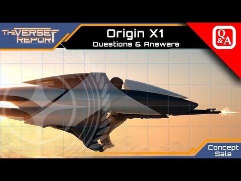 Star Citizen Origin X1 Questions & Answers zum Concept Sale | Verse Report [Deutsch/German]
