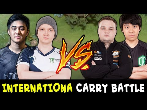 International CARRY BATTLE — Abed + Matumbaman vs Noone + Ana