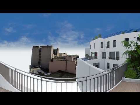 Paris 11e (75011) - Passage Oberkampf // Visite virtuelle d'un 4 pièces