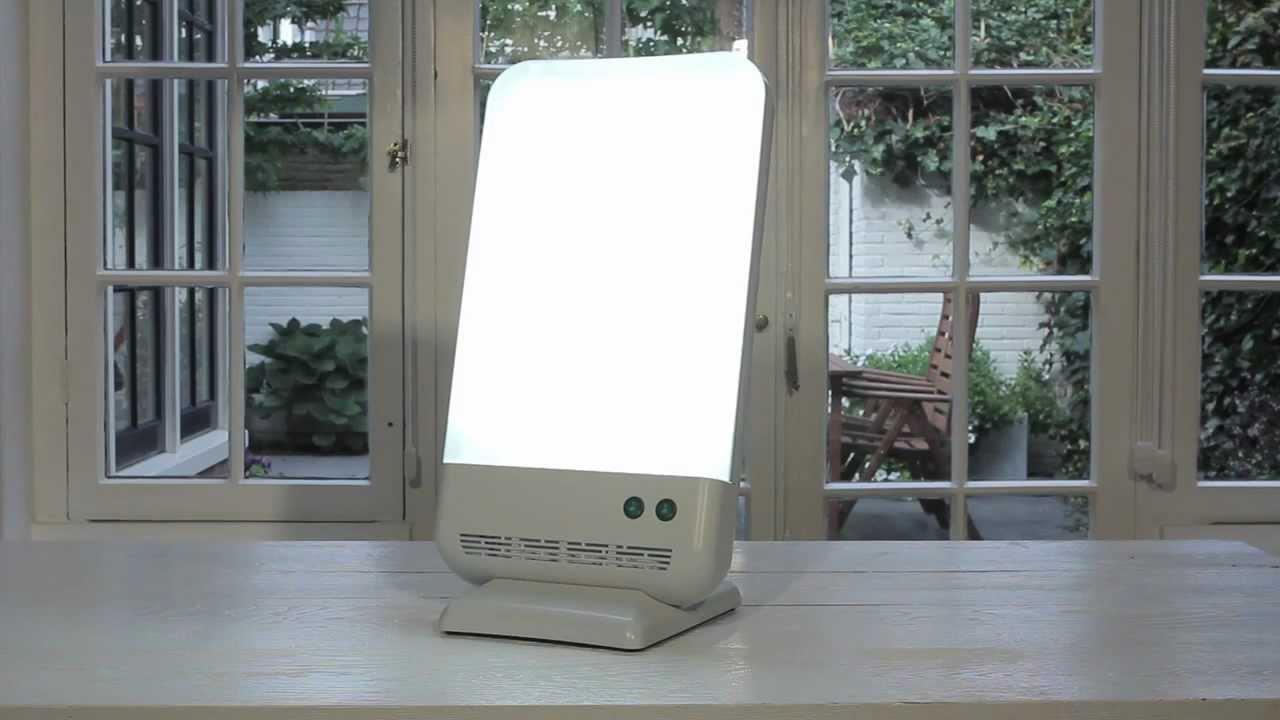Dag Licht Lamp : Daglicht lamp diamond lichttherapie tegen depressie youtube