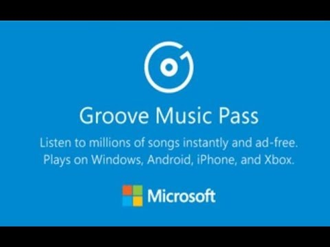 Microsoft Groove Music Pass received a decision to shut down the shutters.