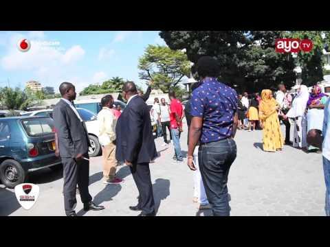Agnes Masogange alivyofikishwa Mahakamani Kisutu leo