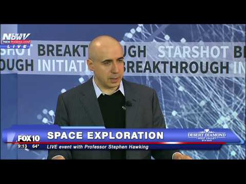 NEW Space Exploration Project Revealed with Stephen Hawking - FNN