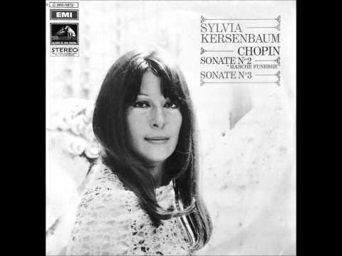 SYLVIA KERSENBAUM plays CHOPIN Sonata No.3 (1971)