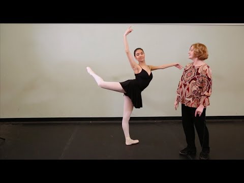 Maine State Ballet: Tips on Technique ~ Back Attitude