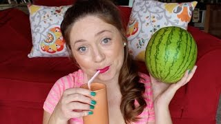 Vegan Non Dairy Watermelon Milkshake Recipe!