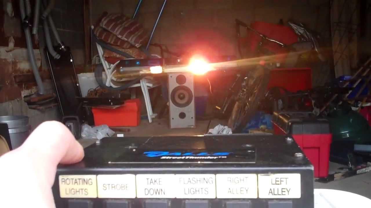 custom code 3 mx7000 light bar  YouTube