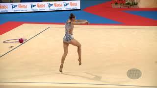 KALEYN Boryana (BUL) - 2018 Rhythmic Worlds, Sofia (BUL) - Qualifications Ball