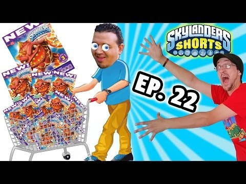 Skylanders Shorts: Ep. 22 - Sold Out Fruit Snacks! (Betty Cr