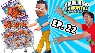 Skylanders Shorts: Ep. 22 - Sold Out Fruit Snacks! (Betty Crocker Skylanders Gummies Skit)