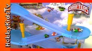 Disney Planes Micro Drifters Wall Race Track Set: Dusty, Ripslinger, Chupacabra, Rochelle