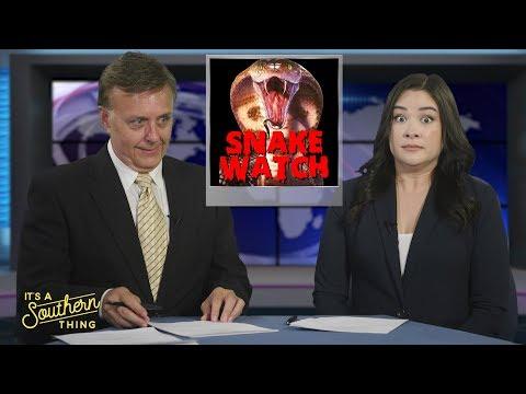 Fun test for studio news set