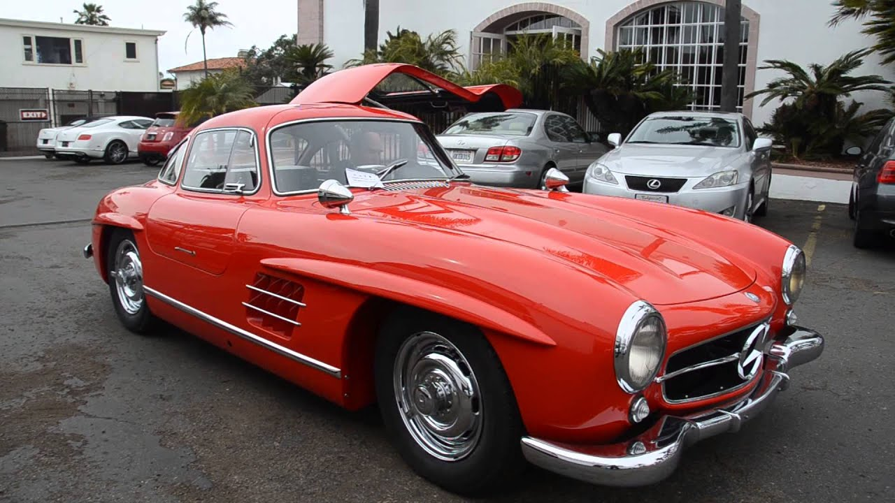 1956 Mercedes Benz 300sl Gullwing W Competition Youtube