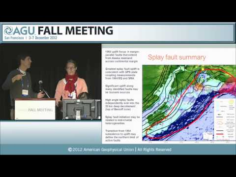 T12C.* How, When, and Where Does Slip Occur in the Subduction Environment? I 2012 AGU Fall Meeting