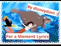 The Little Mermaid Ii - For A Moment Lyrics video