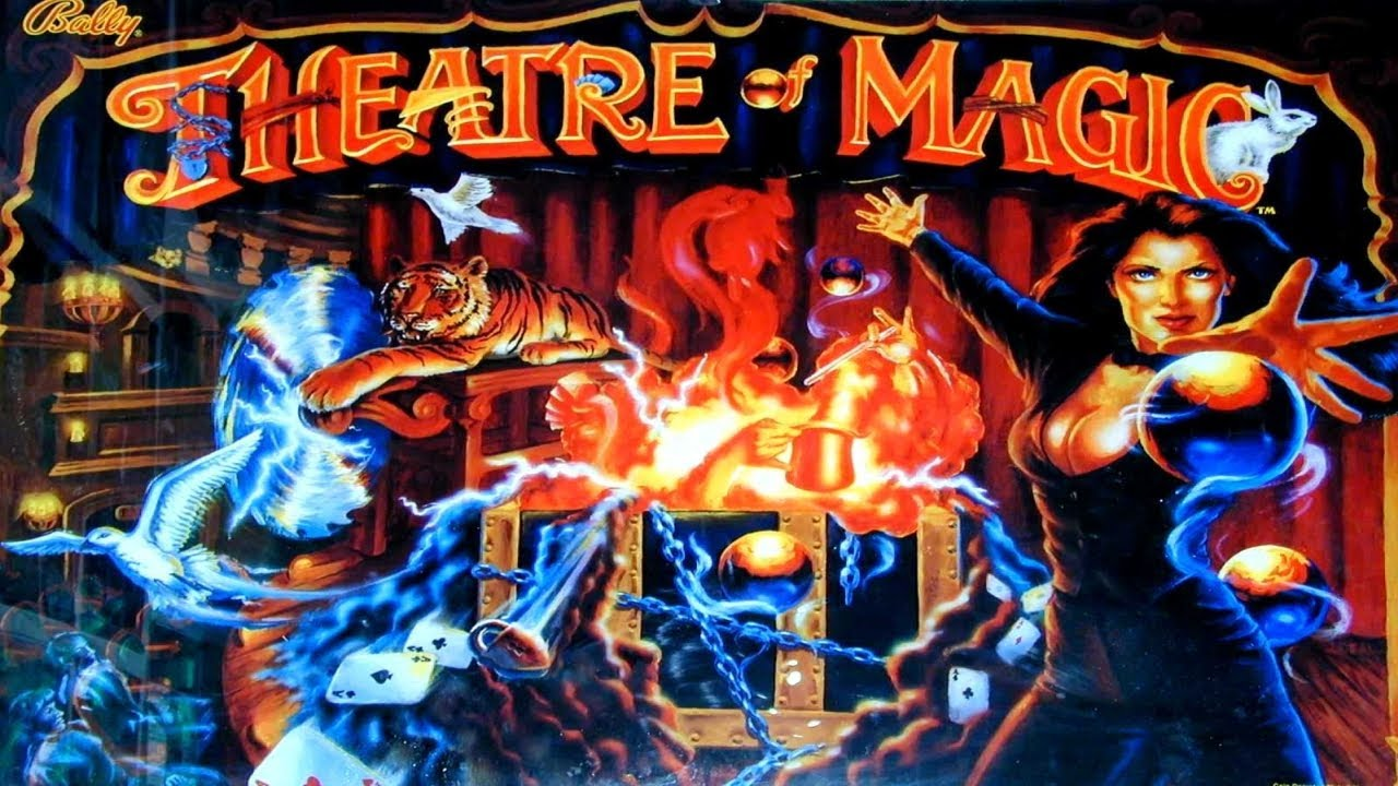 Theatre Of Magic pinball @ Giga Center Cologne