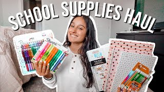 SCHOOL SUPPLIES HAUL 2020