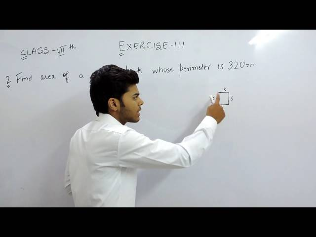 Exercise 11.1 - Question 2 NCERT Solutions for Class 7th Maths Perimeter and Area