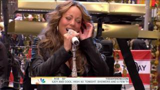 [1080p] Mariah Carey - Hate U @ ( Today Show 10 02 09)