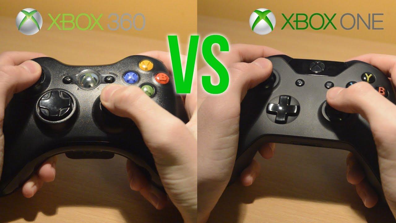 Xbox One Controller vs Xbox 360 Controller - In Depth Xbox ... Xbox One Vs Xbox 360 Controller