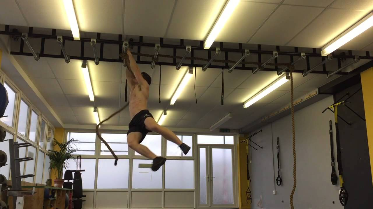 Ninja warrior training/ monkey bars
