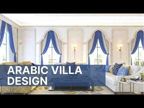 Luxury Arabic Villa Interior Design - Classic Majlis Design