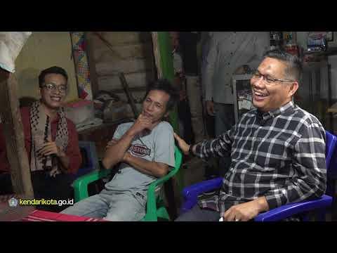 Walikota Sahur bersama warga Kelurahan Lapulu Kecamatan Abeli