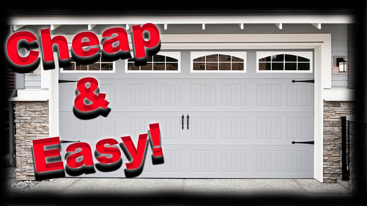 How to Keep Your Garage Cool In the Summer and Warm In The Winter - Easy Cheap DIY
