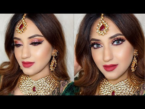 INDIAN BRIDAL MAKEUP LOOK
