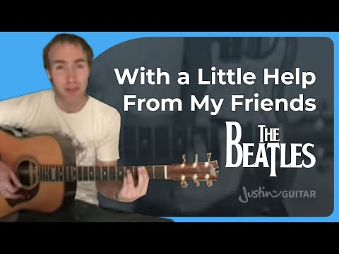 how to play help by the beatles on guitar