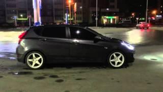 1 апреля 2016 г. Hyundai Solaris на пневме