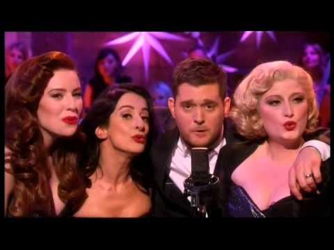Michael Bublé Xmas Live : Home For Christmas Michael Bublé-Jingle Bells (ft.The Puppini Sisters).
