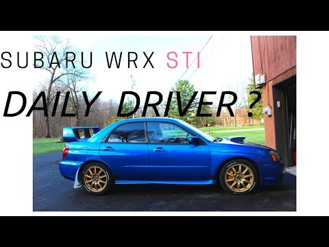 2004 Subaru WRX STi as a daily driver Part 1 ? Review by SVTWRC