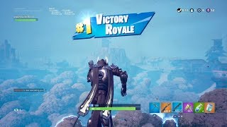 """AGGRESSIVE WIN avec 'WHITE' """"ICE KING"""" SKIN GAMEPLAY (TIER 100 OUTFIT) Fortnite SEASON 7 Annonces"""