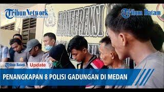 Begini Modusnya, Viral Video Penangkapan 8 Polisi Gadungan di Medan