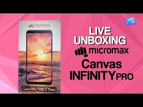 Micromax Canvas Infinity Pro : Live Unboxing | Tech Tak