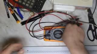Ремонт светодиодного светильника и пайка газовой горелкой.