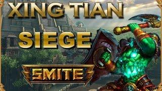 SMITE! Xing Tian, Xian Tian o como se llame xD! Siege #44