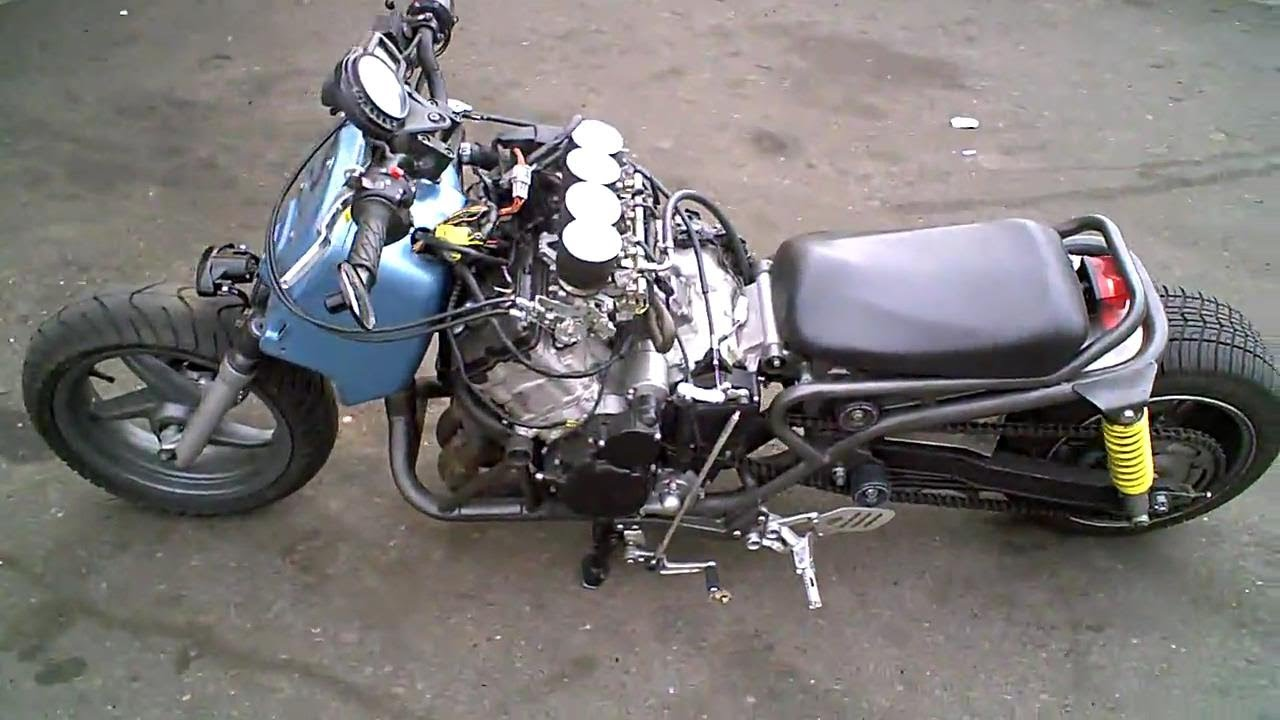 WORLDS FASTEST SCOOTER! Honda Ruckus Gy06 Scooter engine ...