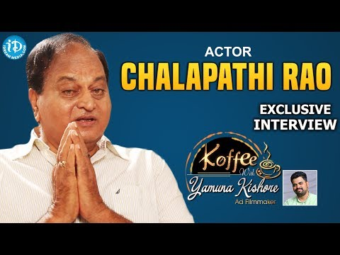 Chalapathi Rao Uncovered || Exclusive Interview || Koffee With Yamuna Kishore #17 || #396
