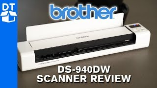 Brother DS-940DW Portable Scanner Review + How To Use
