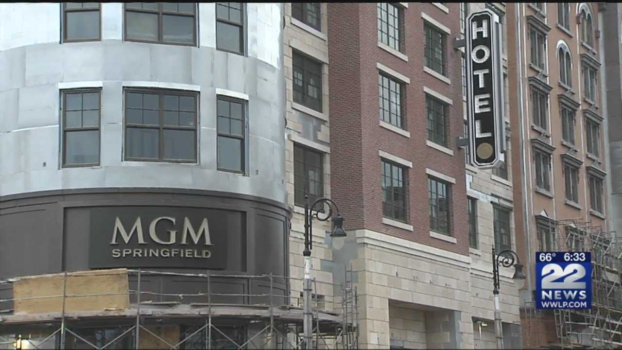 Countdown to grand opening: MGM Springfield signs installed