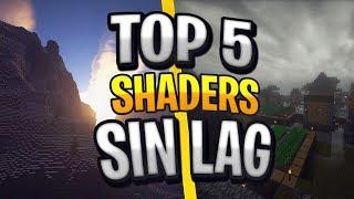 TOP 5 SHADERS para MINECRAFT 1.14.4
