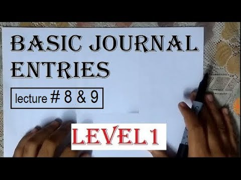 Journal Entries Of Purchase,sales,purchase Return, Sales Return Chapter2 Lecture1 11th Class Series