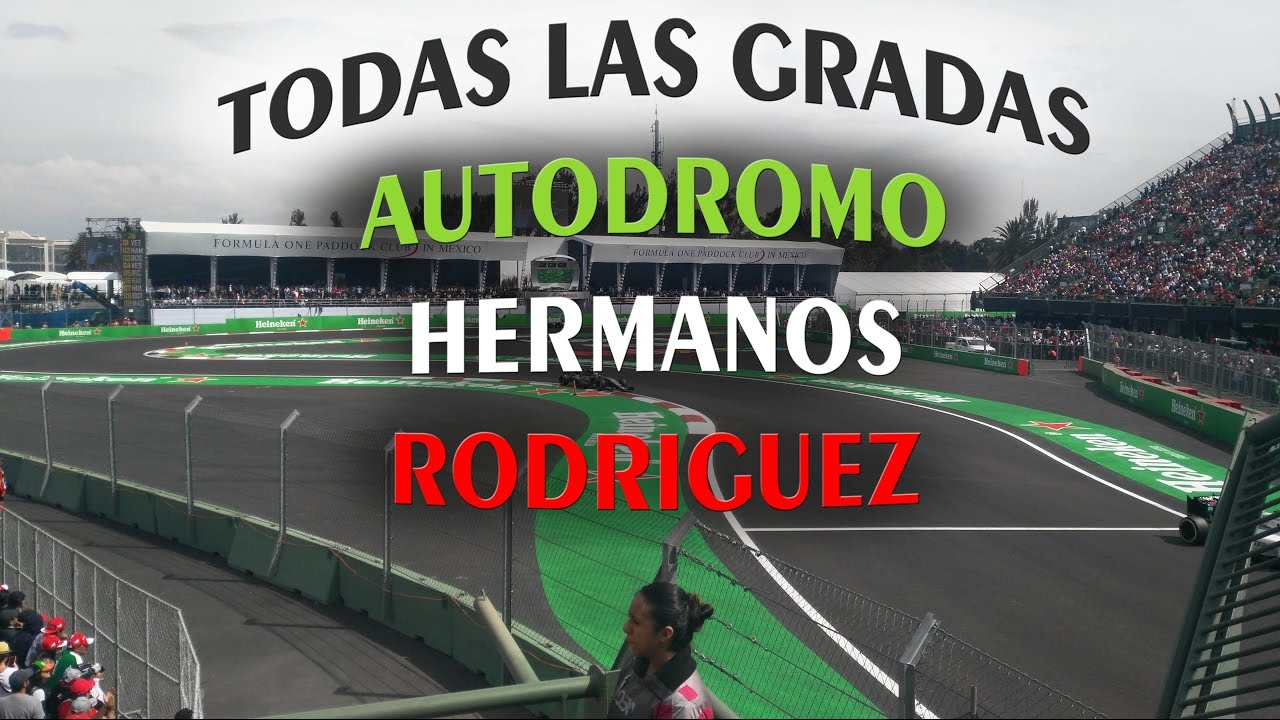 Autodromo hermanos rodriguez todas las gradas zonas y for Puerta 5 autodromo hermanos rodriguez