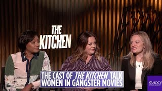 'The Kitchen' Cast Talk About The Impact Of Women In Gangster Movies