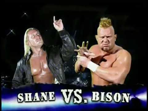 IWA: Glamour Boy Shane vs. Bison Smith (2004)